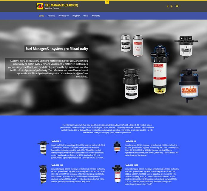 Specializovaný web