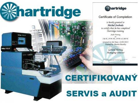 Hartridge s certifikací a zkušenostmi